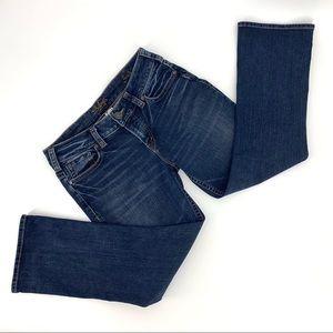 Silver Jeans Suki Mid Rise Capris, 31